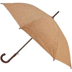 Зонт трость полуавтомат Doyle, светло-коричневый фото