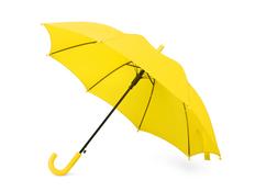 Зонт трость полуавтомат детский Edison, желтый фото