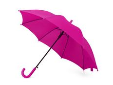 Зонт трость полуавтомат детский Edison, розовый фото