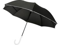 Зонт трость механический Felice, черный /белый фото