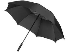 Зонт трость полуавтомат Luxe Glendale, черный фото