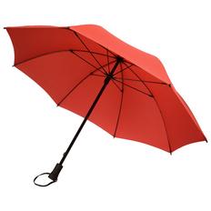 Зонт трость механический Stride Hogg Trek, красный фото