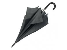 Зонт трость полуавтомат Hugo Boss Illusion, темно-серый фото