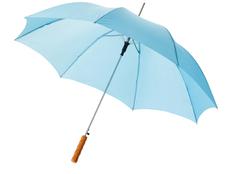 Зонт трость полуавтомат Lisa, голубой фото