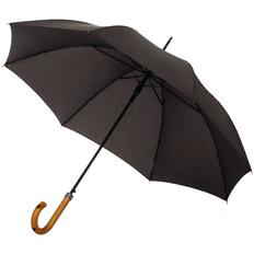 Зонт трость полуавтомат Fare LockWood, черный фото
