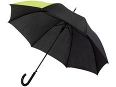Зонт трость полуавтомат Lucy, черный / желтый фото