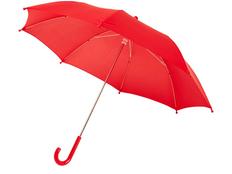 Зонт трость механический детский Nina, красный фото