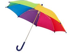 Зонт трость механический детский Nina, разноцветный фото