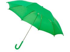 Зонт трость механический детский Nina, зелёный фото