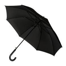 Зонт трость полуавтомат Oxford, черный фото
