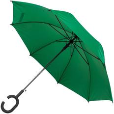 Зонт-трость полуавтомат Charme, зеленый фото