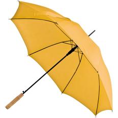 Зонт-трость полуавтомат Lido, желтый фото