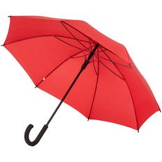 Зонт-трость полуавтомат с цветными спицами Molti Bespoke, красный фото