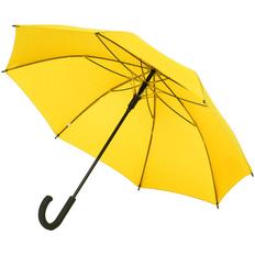 Зонт-трость полуавтомат с цветными спицами Molti Bespoke, желтый фото
