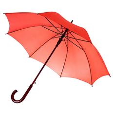 Зонт-трость полуавтомат Unit Standard, красный фото