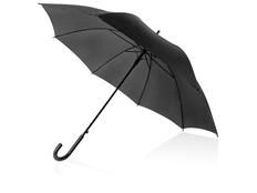 Зонт трость полуавтомат Яркость, черный фото
