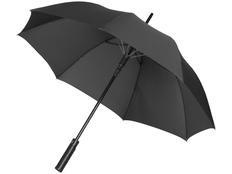 Зонт трость полуавтомат Luxe Riverside, черный фото