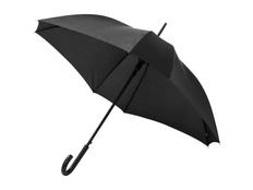 Зонт трость квадратный полуавтомат Neki, черный фото