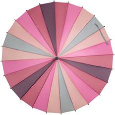 Зонт трость «Спектр», разноцветный розовый фото