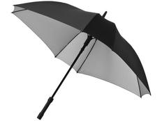 Зонт трость квадратный двухсторонний полуавтомат Marksman Square, черный / светло-серый фото