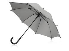 Зонт-трость светоотражающий US Basic Reflector, серый фото