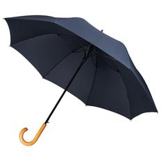Зонт трость полуавтомат Unit Classic, темно-синий фото