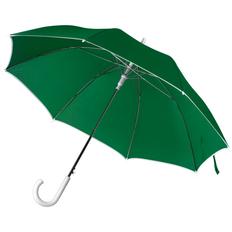 Зонт трость полуавтомат Unit Color, зеленый / белый фото