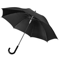 Зонт трость полуавтомат Unit Promo, черный фото