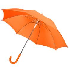 Зонт трость полуавтомат Unit Promo, оранжевый фото