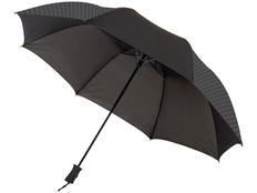 Зонт складной полуавтомат Marksman Victor, черный фото
