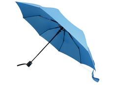 Зонт складной полуавтомат Wali, голубой фото