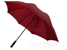 Зонт трость антиветер механический Yfke, темно-красный фото