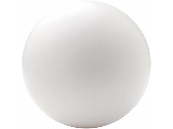Антистресс Мяч полиуретан, белый - фото № 1