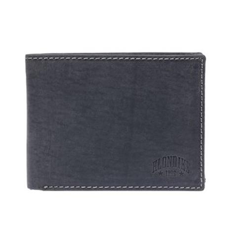 Бумажник Yukon, кожа, чёрный - фото № 1