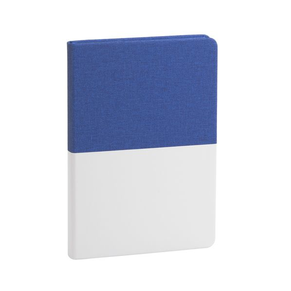 Ежедневник недатированный Wownote Палермо А5, белый/ синий - фото № 1