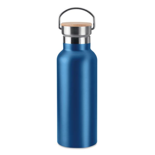 Термос двустенчатый 500мл, синий - фото № 1
