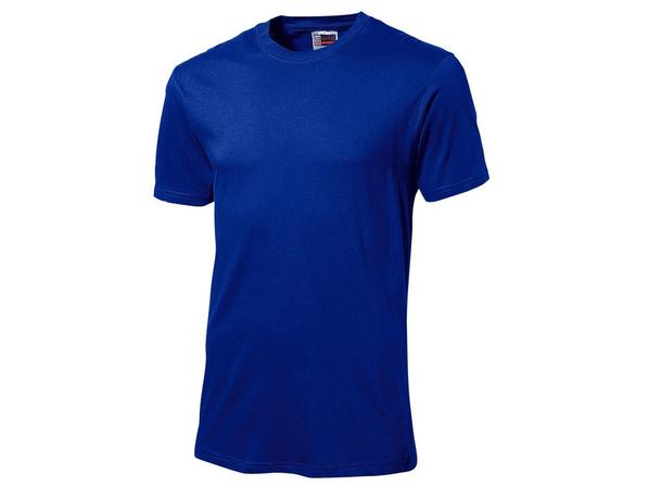 Футболка мужская US Basic Super Club, классический синяя - фото № 1