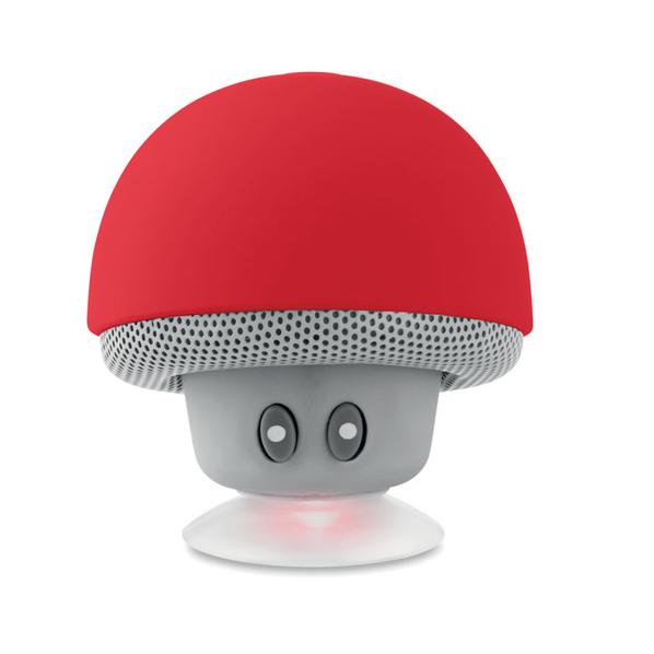 Колонка Bluetooth на присоске, красная - фото № 1