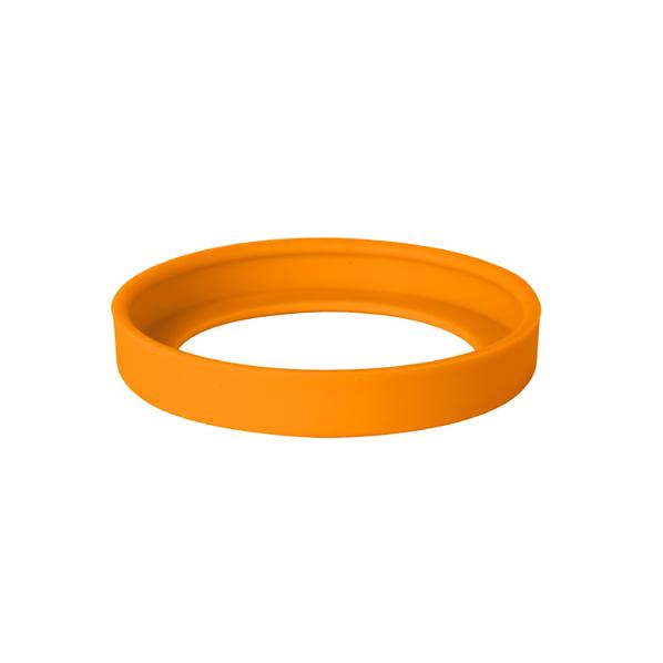 Комплектующая деталь к кружке 25700 FUN - силиконовое дно, оранжевый - фото № 1