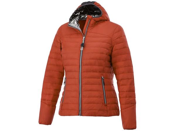 Куртка утепленная женская Elevate Silverton, оранжевая - фото № 1