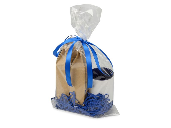 Подарочный набор Tea room с двумя видами чая, синий - фото № 1