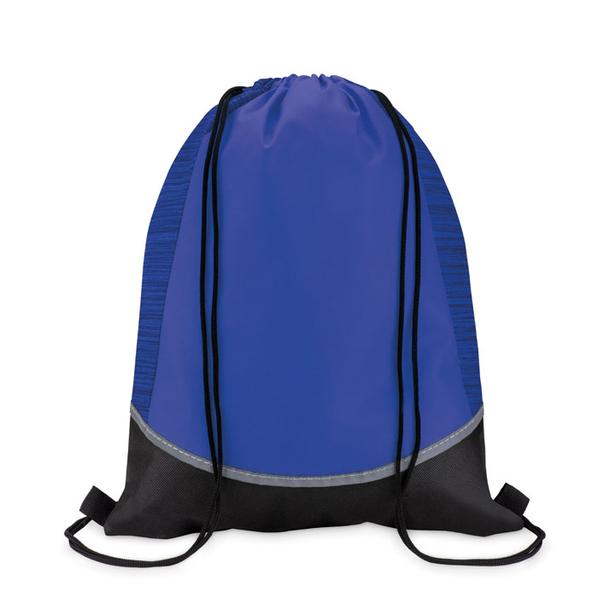 Рюкзак нетканый, синий - фото № 1