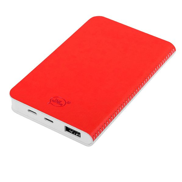 Зарядное устройство thINKme Franky, 4000 mAh, белое / красное - фото № 1