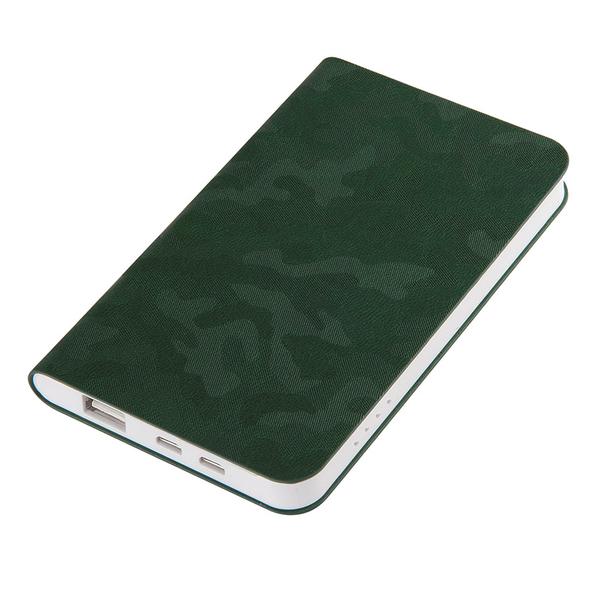 Зарядное устройство thINKme Tabby, 4000 mAh, зеленое - фото № 1