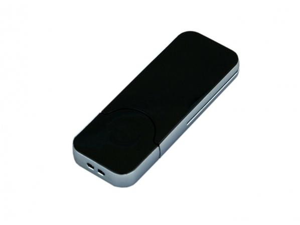 Флешка USB 2.0 на 32 Гб в стиле IPhone, черная - фото № 1