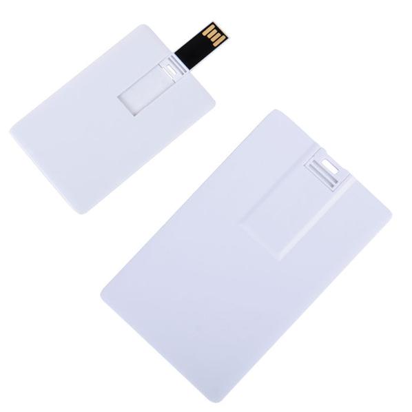Флешка карточка Card , 8Гб, белый