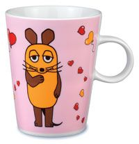 Фарфоровая чашка Charisma, розовый - фото № 1