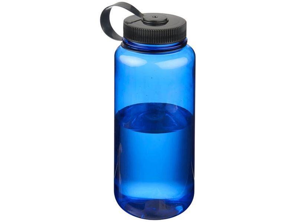Бутылка для воды Sumo 875мл, прозрачный синий - фото № 1