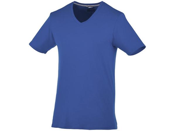 Футболка мужская с V образным вырезом Slazenger Bosey, синяя - фото № 1