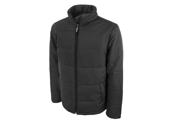 Куртка мужская Us Basic Belmont, черная/ серая - фото № 1